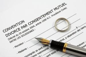 convention de divorce